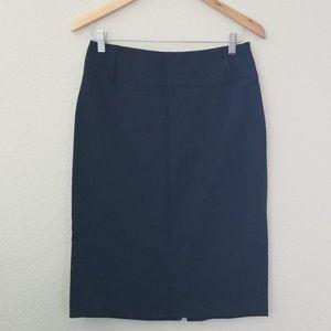 Classic Black Penil Skirt